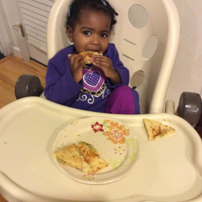 Toddler Friendly Recipe: Hide-and-Seek Quesadillas