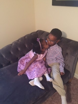 My babies on Easter Sunday.