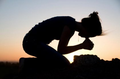 When God makes His presence known, you have no choice but to bow down.